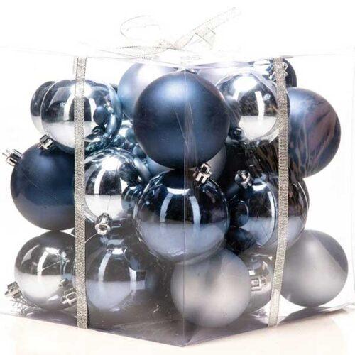 Новогодишни лампиони Тегет Сет од 36 парчиња PVC