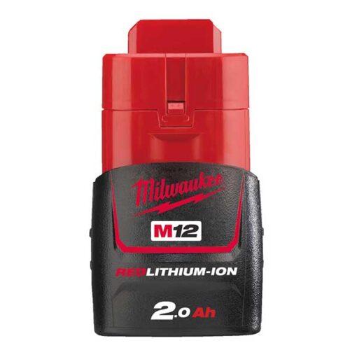 Резервна батерија MILWAUKEE M12™ RED LITHIUM 2.0 Ah