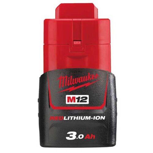 Резервна батерија MILWAUKEE M12™ RED LITHIUM 3.0 Ah