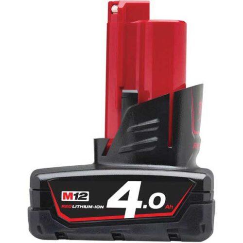 Резервна батерија MILWAUKEE M12™ RED LITHIUM 4.0 Ah