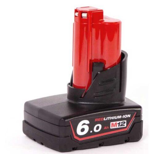 Резервна батерија MILWAUKEE M12™ RED LITHIUM 6.0 Ah