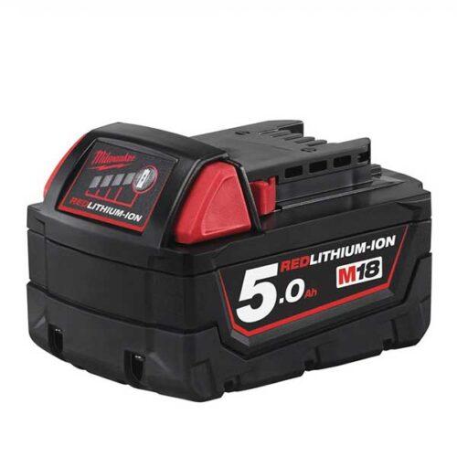 Резервна батерија MILWAUKEE M18™ RED LITHIUM 5.0 Ah
